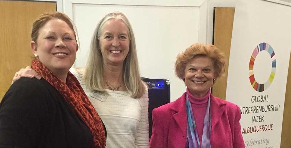 Three women from WESST