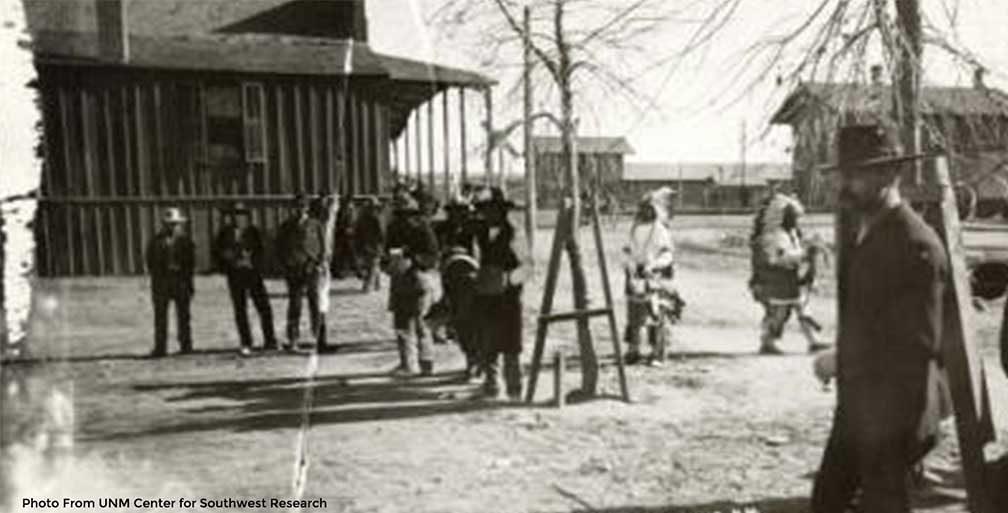 Historic photo of Albuquerque